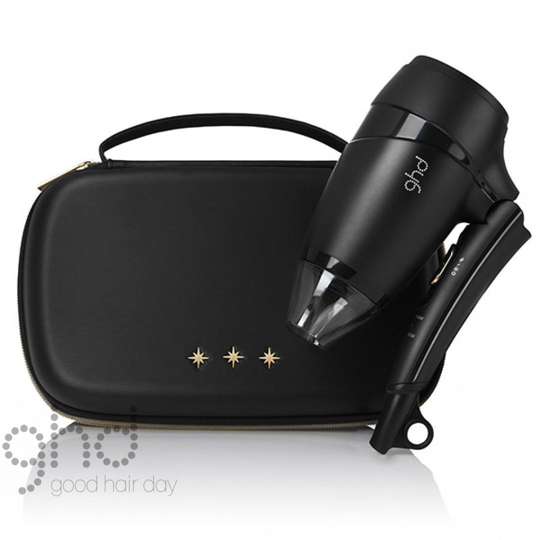 Подарочный набор для путешествий фен Flight в кожаном чехле GHD 99350073597